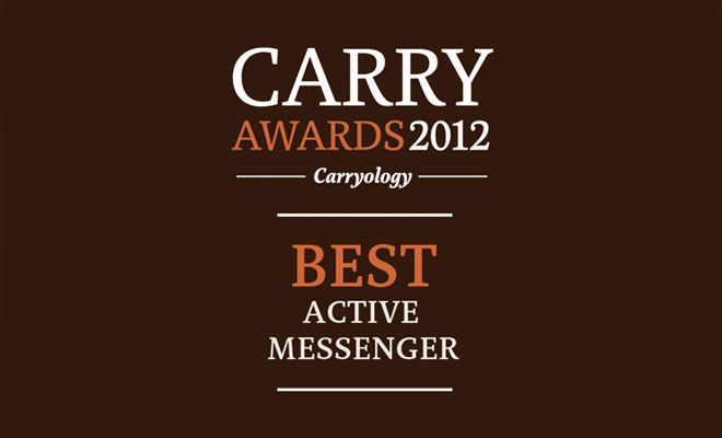 Best Active Messenger Finalists – Carry Awards