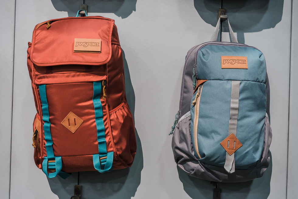 JanSport Outside Collection Iron Sight and Hawk Ridge