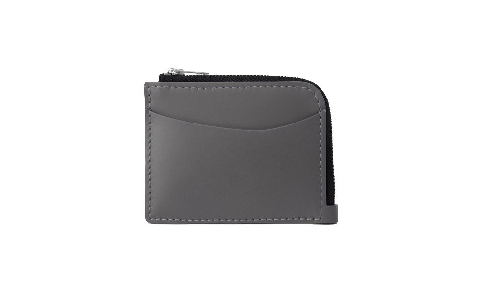 Le Feuillet Wallet - Concrete Grey
