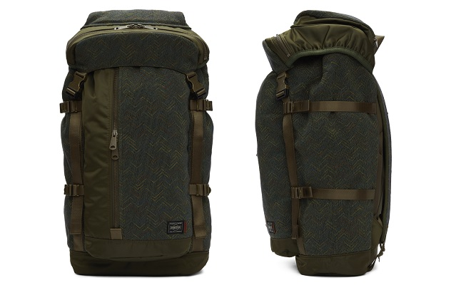 Missoni Green Porter Edition Flap Backpack