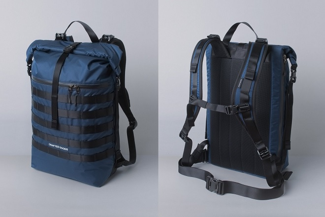 Crafted Goods Rigi 25L Backpack Navy