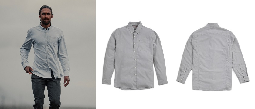 Western Rise X Cotton Stretch Oxford Shirt