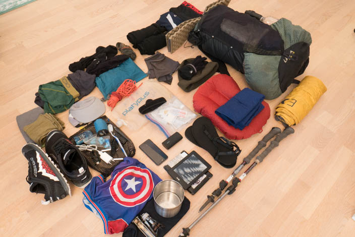 Packing for the Appalachian Trail