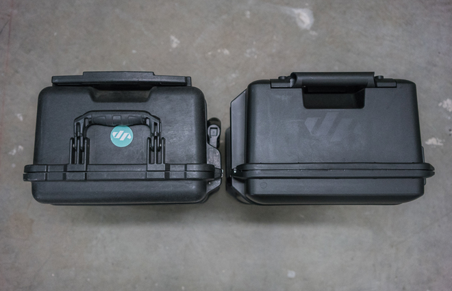 Pelican 1535 Air Carry-On Review (top handle comparison)