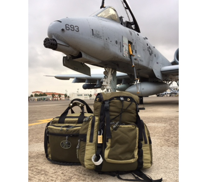 Red Oxx Bags with Jet