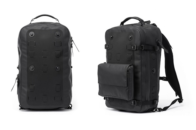 Black Ember Citadel Modular Backpack