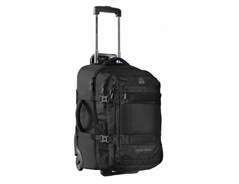 Granite Gear Cross-Trek 2 Carry-On Wheeled Duffel with Removable Backpack