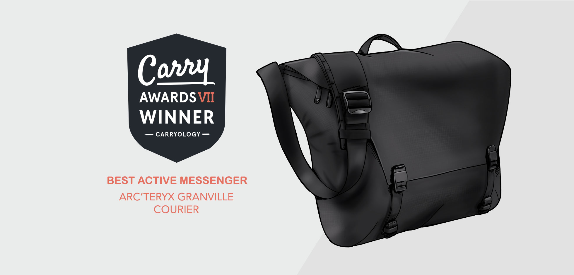 the best active messenger of 2019 is… arc'teryx granville courier