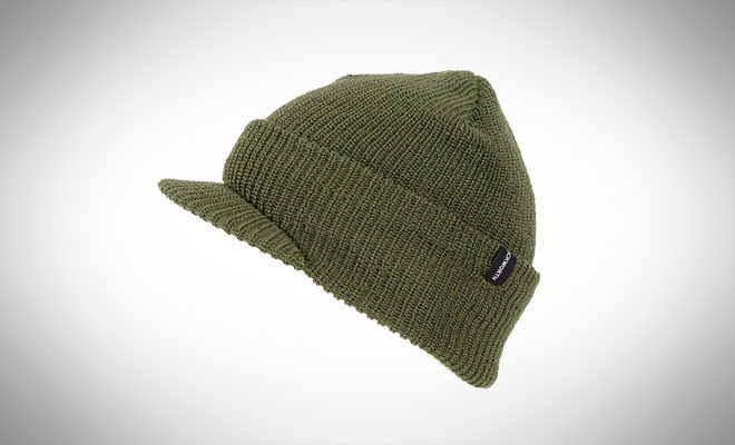 Duckworth Knit Watchman Hat with Visor