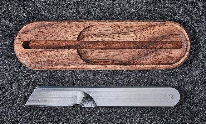 Grovemade Task Knife With Stand