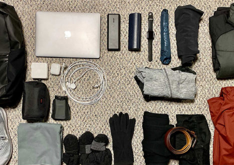 Minimalist Packing List: What's in my 16L One Bag
