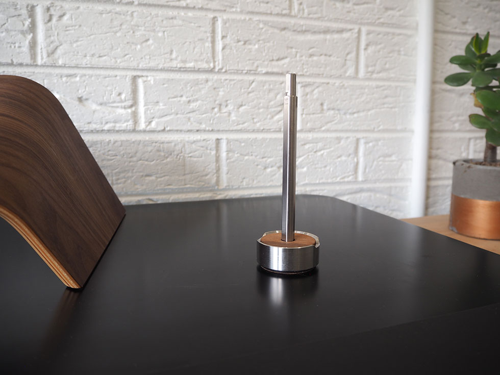 Grovemade Titanium Pen and Stand