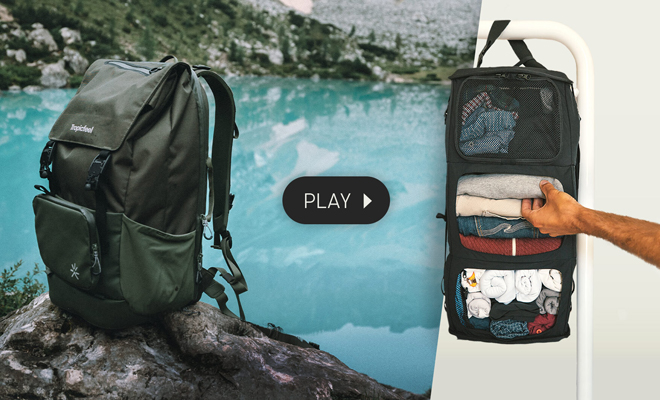 This Travel Backpack is Your Portable Wardrobe