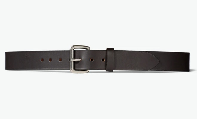 Made in the USA: Filson 1-1/2″ Bridle Leather Belt
