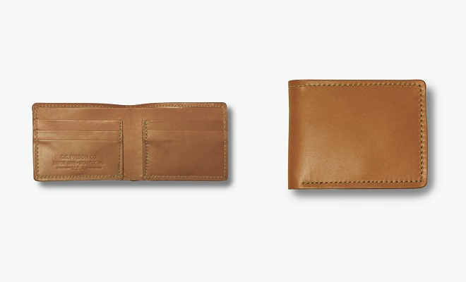 Made in the USA: Filson Bridle Leather Bi-Fold Wallet
