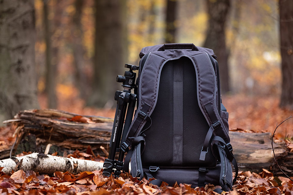 Wotancraft Pilot Travel Camera Backpack