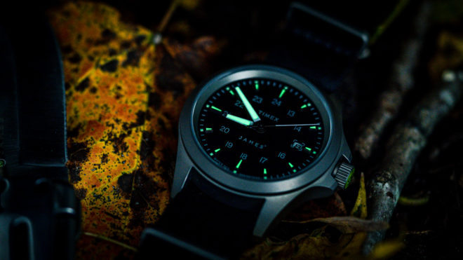 The James Brand x Timex Expedition North Field Watch